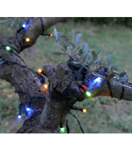 Garland solar 175 LED multicolored - 16m