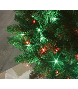 Garland FLICKER LIGHT® 64 LED green & 64 LED red 8m